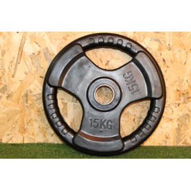 Disco Olimpico 3 Agarre 15KG