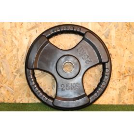 Disco Olimpico 3 Agarre 25KG